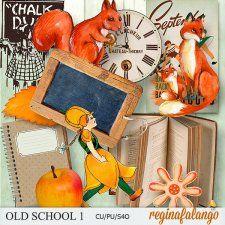 OLD SCHOOL 1 #CUdigitals cudigitals.com cu commercial digital scrap #digiscrap scrapbook graphics
