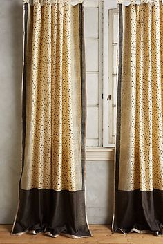 Speckled Silk Curtain