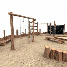 Wooden Playground idea