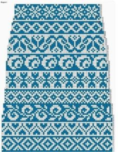 (76) Одноклассники Knit Socks, Knitting Socks, Knitting Patterns Free, Free Knitting, Crossstitch, Blouses, Tricot, Cross Stitch, Sock Knitting