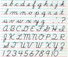 Cursive Alphabet Discover How will we sign contracts without cursive writing? Cursive Letters Worksheet, Cursive Alphabet, Handwriting Worksheets, Tracing Letters, Diy Letters, Spanish Alphabet, Learn Handwriting, Handwriting Analysis, Cursive Handwriting