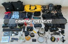 camping check list