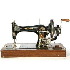 VESTA máquinas de coser