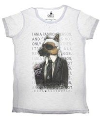 T-shirt Karl Lagerwolf Out