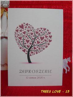 Zaproszenia na ślub TREES LOVE ślubne KOPERTA (5039141305) - Allegro.pl - Więcej niż aukcje.