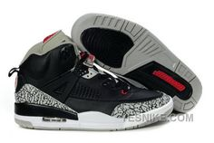 save off 575bd e33f2 Buy Low Cost Air Jordan Spizike Retro Mens Shoes Black Cemenst Grey from  Reliable Low Cost Air Jordan Spizike Retro Mens Shoes Black Cemenst Grey  suppliers.