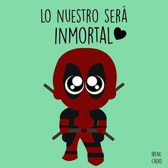Deadpool-Irene Calvo