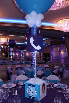 Iphone Themed Bat Mitzvah with Custom App Centerpieces Iphone App Centerpiece Bar Mitzvah Centerpieces, Bar Mitzvah Themes, Bat Mitzvah Party, Party Centerpieces, Casino Theme Parties, Casino Party, Party Themes, Party Ideas, Teen Parties