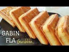 RESEP GABIN FLA - GURIH DAN LEMBUT - YouTube Cake Recipes, Snack Recipes, Dessert Recipes, Cooking Recipes, Snacks, Pudding Desserts, Cookie Desserts, Indonesian Food Traditional, Resep Cake