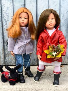 """Eine rothaarige Schönheit erobert die Herzen: Mila von """"Götz"""" - puppen und mehr Gotz Dolls, Happy Kids, Doll Clothes, Harajuku, Goth, Amazing, Style, Fashion, Grey Beanie"""