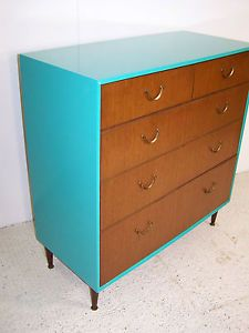 Vintage Retro Plan Chest Meredew Tola Teak Chest Of Drawers Restyled 70s