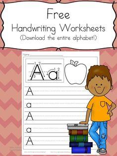 26 Free Preschool Handwriting Worksheets – Easy Download!