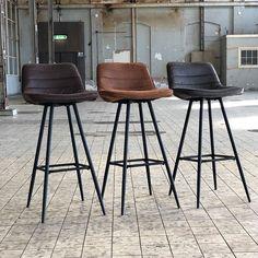 Modern Bar Stools, Wood Table, Organization Hacks, Chair Design, Sweet Home, House Styles, Kitchen, Inspiration, Furniture