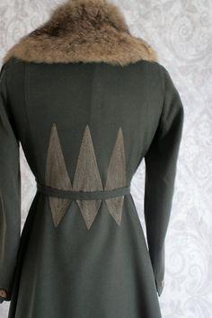 Antique 1910s Suit Wool Edwardian