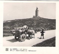 Fotos antiguas de Galicia. A Coruña, Galicia