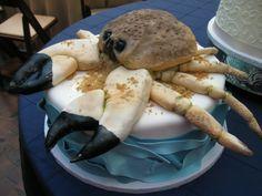 groom cake nashville, sculptured, 3d, beach, crab, ocean, signature cakes by vicki, #nashville, #groomscake, #nashvillewedding, #gettingmarried