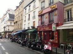 Rue Mouffetard, 75005 Paris, october 2014