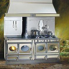 Wood burning range cooker / boiler
