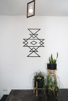 A 30 minutes wall art | Ohoh Blog - diy and crafts