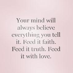 Renew your mind.