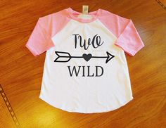 BACK IN STOCK! Two Wild 2nd Birthday Shirt