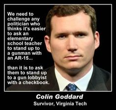 Commentary on the gun lobby ... from one who has earned his say!