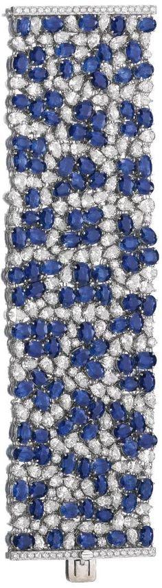Sapphire and Diamond bracelet | La Beℓℓe ℳystère