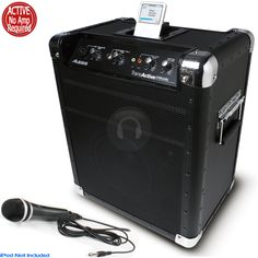 Alesis Transactive Mobile PA System iPod from Electromarket.co.uk