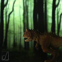#unabellagiornata 36/365 domenica preistorica #Carnotaurus #dinosaur