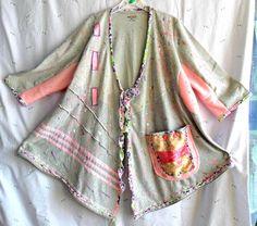 Upcycled sweater tunic Plus size