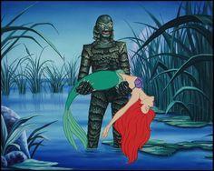 Artista promove encontro entre vilões famosos com princesas da Disney