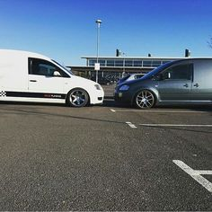 @stringer18 Head On With Another Caddy #ModifiedVans #VolksWagen #Caddy #Caddy2K GO FOLLOW @stringer18 by modifiedvans