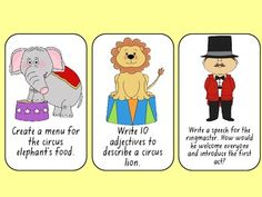 Circus Literacy and Numeracy Pack
