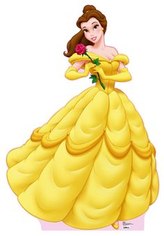 Belle was ALWAYS my favorite princess and she will be forever! I love how spunky and determined she is yet she's so romantic and kind. BEST disney princess in my opinion. :)
