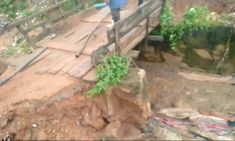 A bridge in Abuja Collapsed and Residents can't Find their Way Home