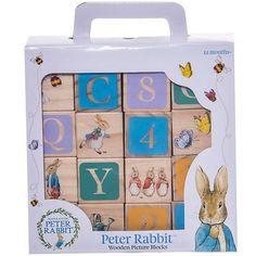 Cubes en Bois Peter Rabbit