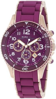 Purple Watch by Marc Jacobs. Marc Jacobs Uhr, Marc Jacobs Watch, Jewelry Accessories, Fashion Accessories, Ladies Accessories, Cheap Jewelry, Fashion Jewelry, All Things Purple, Shades Of Purple
