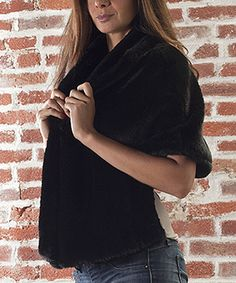 Take a look at this Black Jacket by Sisters on #zulily today!