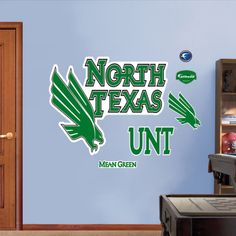 North Texas University Logo Wall Decal at AllPosters.com