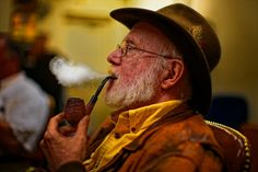 Saturday Afternoon with Pipe  from Neill Archer Roan's Photo Blog - For smoking pipe and vintage tobacco collectors