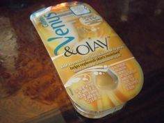 Venus razor with Oil of Olay..big step up from dollar store disposables!