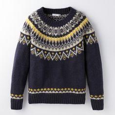 求心編み セーター - Google 検索 Loom Knitting Patterns, Knitting Stitches, Knitting Designs, Hand Knitting, Knitting Socks, Knitting Tutorials, Stitch Patterns, Icelandic Sweaters, Warm Sweaters