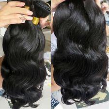 100% Weft Hair Virgin Brazilian Bundle Hair Remy Human Hair Weave Extensions