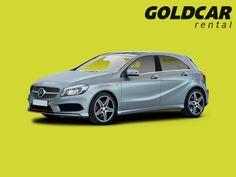 Mercedes Clase A ¡Puede alquilarlo en cualquiera de las 52 oficinas de Goldcar!
