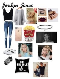 """""""Jordyn Jones"""" by anneamiejole ❤ liked on Polyvore featuring Sans Souci, WithChic, adidas, Kate Spade, SoGloss, Casetify, West Bend and BERRICLE"""