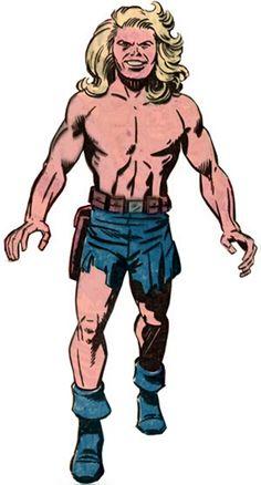 Kamandi - DC Comics - Jack Kirby - Character Profile