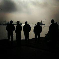 Sarıyer sahil /2014  Kısmeti bekleyiş…  http://instagram.com/p/wnu-V1st7j/