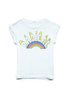 Even though its a kids shirt i want it....Radical Rainbow Tee (Kids) | FOREVER21 #F21Girls #GraphicTee #Juniors
