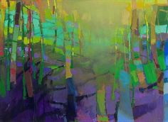 Mint Light, 2014 by Brian Rutenberg. Abstract Painters, Abstract Landscape, Landscape Paintings, Abstract Art, Modern Art, Contemporary Art, New York Galleries, Art Sites, Art Blog