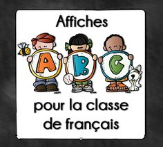 French ABC Posters